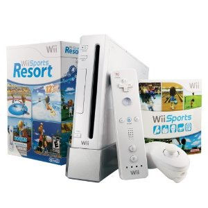Nintendo Wii Console Black Bundle by Nintendo